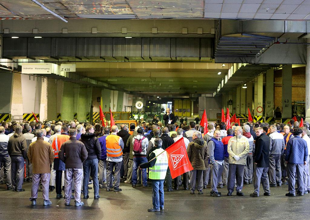 Il Fondo europeo di adeguamento alla globalizzazione per i lavoratori in esubero sarà mantenuto nel periodo 2014-2020 BELGA/DPA/R.Weihrauch