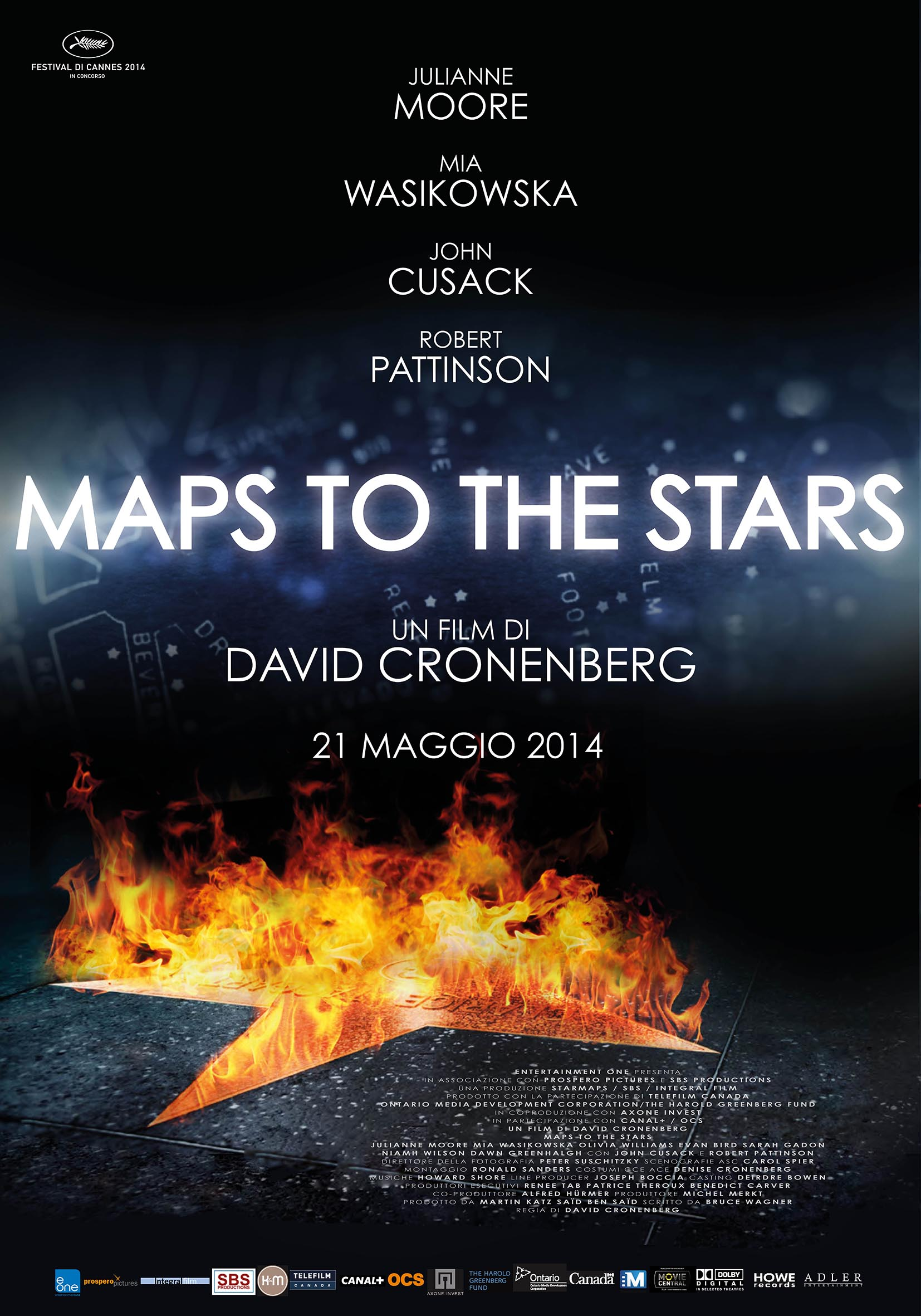 Poster_Maps To The Stars