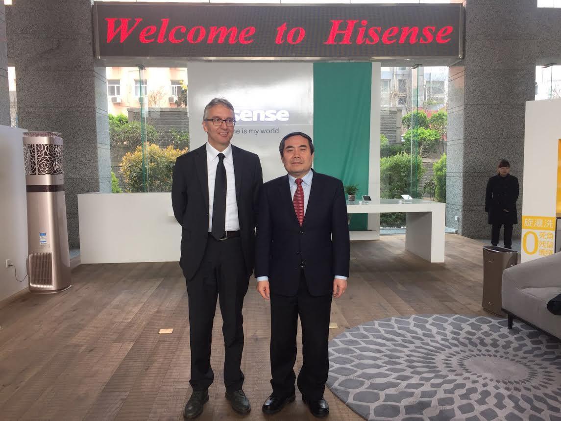 incontro con il sindaco di Qingdao