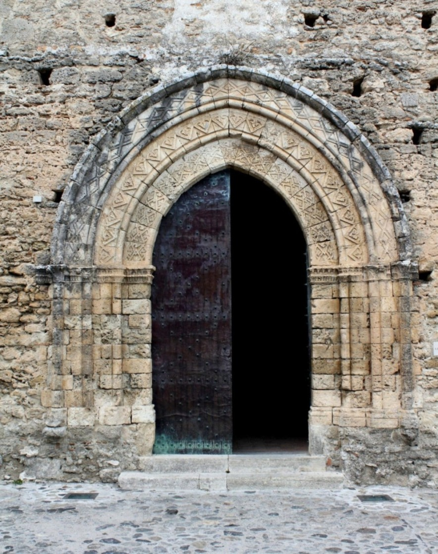 Chiesa di S. Francesco – Gerace – Portale d'ingresso