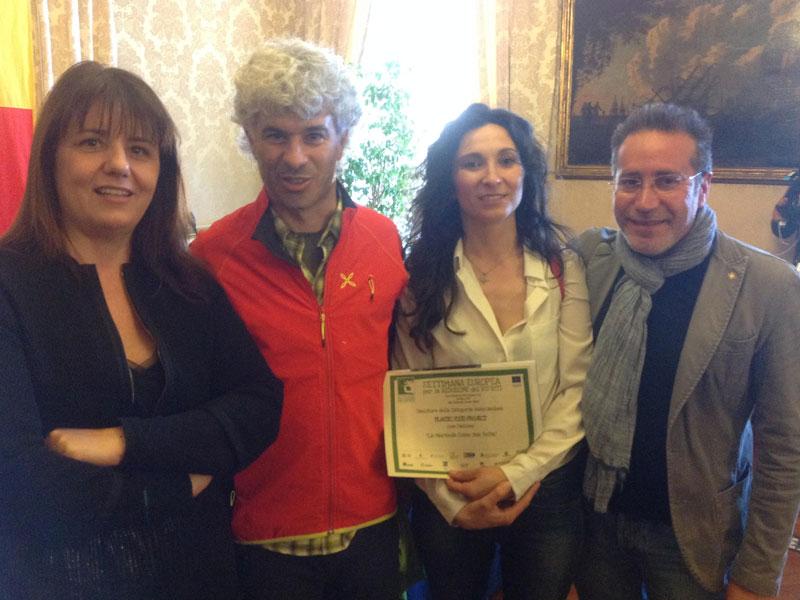 Sottosegretario-di-stato-all-ambiente-Barbara-Degani—Roberto-Cavallo—Isabella-Ceccarelli—Pierluigi-Monsignori