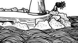 Annamaria Massari: un velo di salsedine come abito