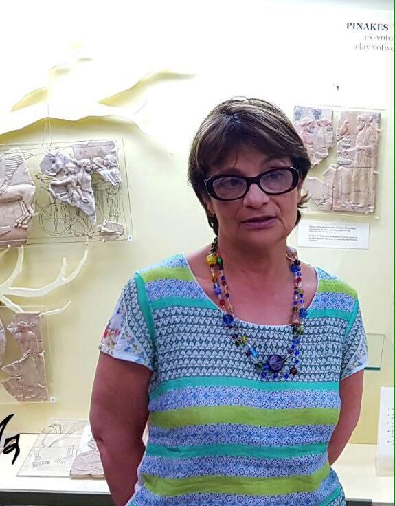 Rossella Agostino – Direttore Museo Archeologico dell'antica Kaulon