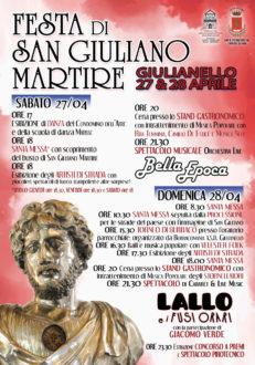 Festa di San Giuliano Martire-locandina