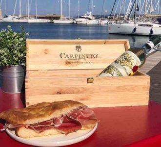 DOGAJOLO Banco del Vino CARPINETO- Merenda sul mare