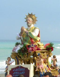 Sant'Andrea Avellino in processione