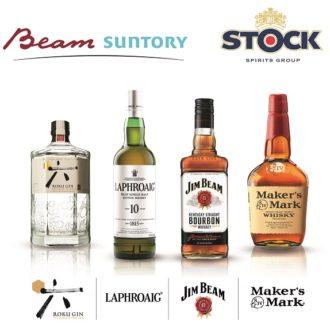 Bottiglie Beam Suntory per Stock-1