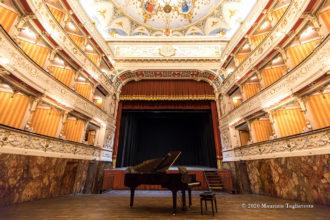 Teatro Comunale di Cagli - Foto di Maurizio Tagliatesta