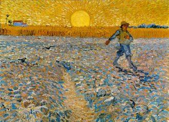 "Van Gogh - Il seminatore - ""Collection Kröller-Müller Museum, Otterlo, the Netherlands; Photography Rik Klein Gotink, Harderwijk"""
