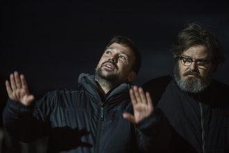 "Film ""Il grande passo"" - A.Padovan, G.Battiston - backstage"