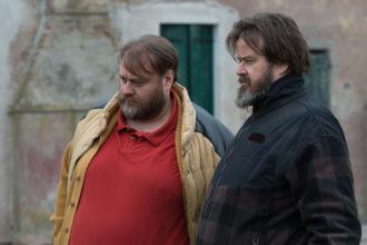 "Film ""Il grande passo"" - S.Fresi, G.Battiston - backstage"