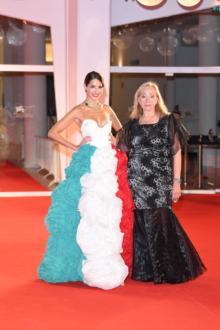 Rosetta Sannelli - Presidente Premio Kineo - Roberta D'Orsi Sul Red Carpet Venezia77